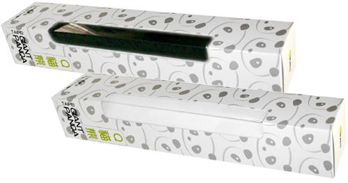 小竹餐垫 白底黑字